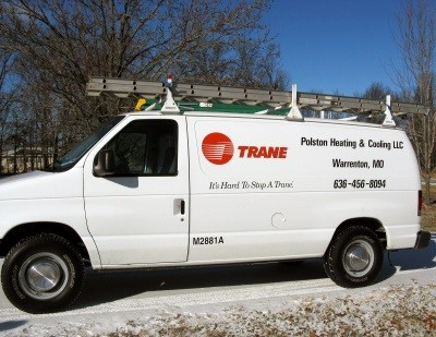 Trane Service Truck Warrenton MO